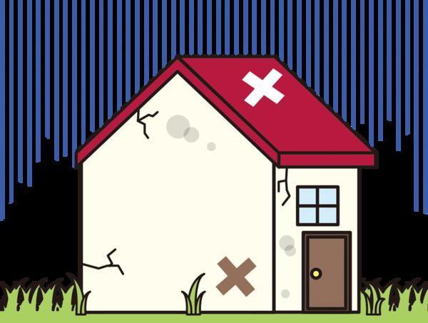 外壁塗装の劣化症状・主な劣化症状の種類と原因・補修方法についてサムネイル